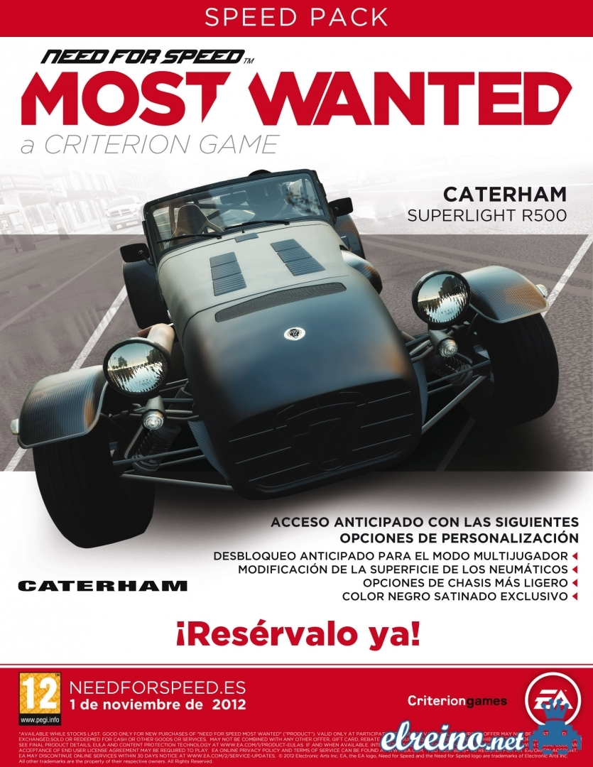Im Genes Need For Speed Most Wanted Para Xbox 360